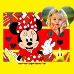 Marco infantil de Minnie