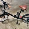 サスペンション付き折りたたみ自転車FS206LL-37はこんな感じ