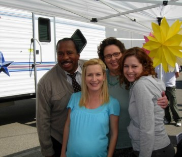 Leslie, Angela, Phyllis and Jenna looking adorable!