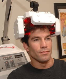 laser hair loss cure system