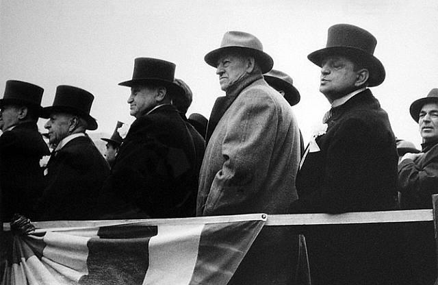 Robert Frank. City Fathers (Hoboken).