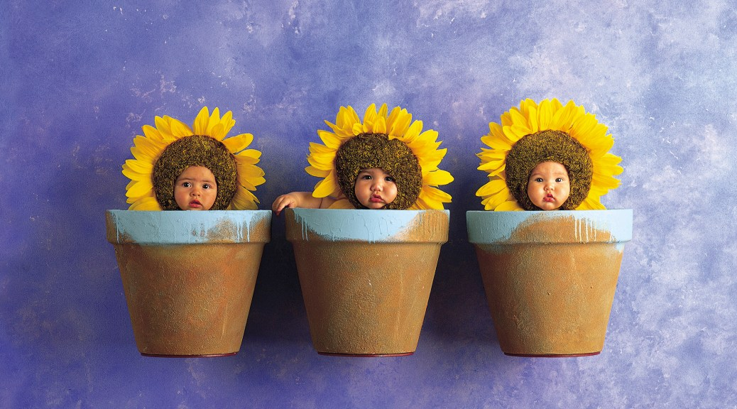 Anne Geddes, Down in the Garden.
