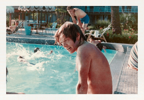 The Rolling Stones—including Brian Jones—relax in Florida in 1965.
