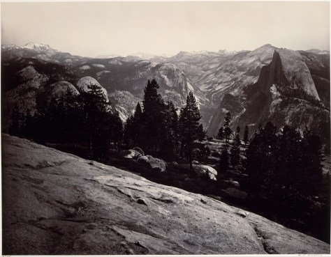 The Metropolitan Museum of Art. Carleton Watkins. The Domes from the Sentinel Dome, Yosemite.