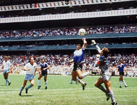Diego Maradona. 1986. Bongarts/Getty Images.