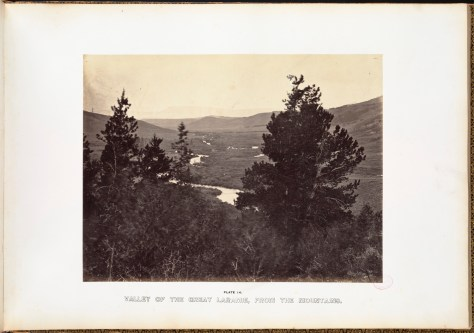 Andrew J. Russell. Valley of the Great Laramie, from the mountains.