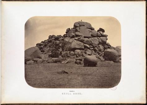 Andrew J. Russell. Skull Rock.