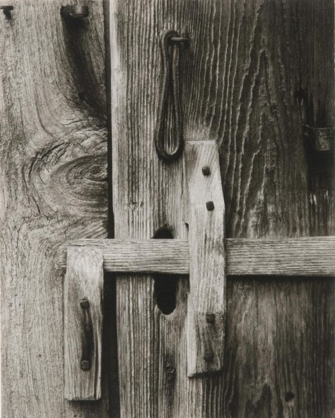Paul Strand. Door Latch, Stockburger's Farm, East Jamaica, Vermont