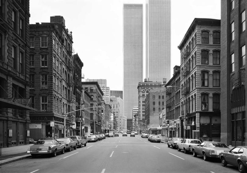 Thomas Struth. West Broadway, New York. 1978