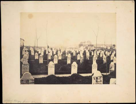 Andrew J. Russell. Soldiers' Burying Ground, Alexandria, Virginia, May 1863