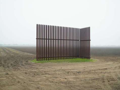 Richard Misrach. Wall, Los Indios, Texas, 2015.