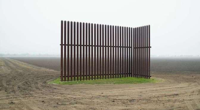 Richard Misrach. Wall, Los Indios, Texas, 2015.
