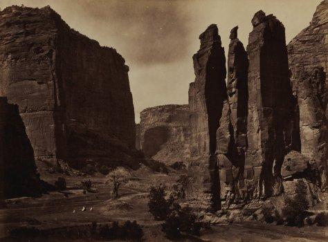 Timothy H. O'Sullivan, Cañon de Chelle, 1871-1873