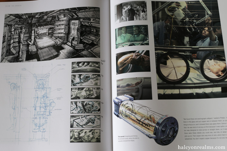 Alien The Archive Art Book