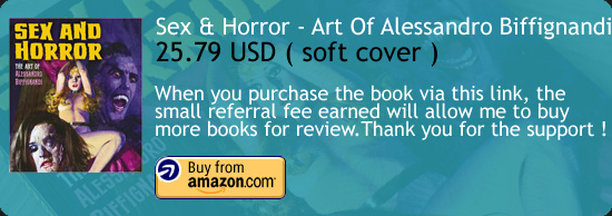 Sex And Horror – The Art Of Alessandro Biffignandi Book Amazon Buy Link
