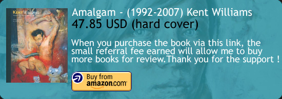 Amalgam - Kent Williams Art Book Amazon Buy Link