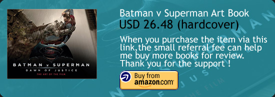 Batman v Superman : Dawn Of Justice Art Book Amazon Buy Link