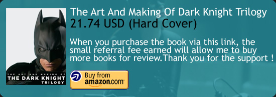 The Art And Making Of The Dark Knight Trilogy Book Amazon Buy Link