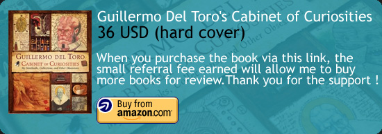 Guillermo Del Toro - Cabinet of Curiosities Book Amazon Buy Link