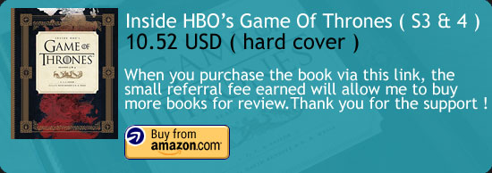 Inside HBO's Game Of Thrones Season 3 & 4 Book Amazon Buy Link