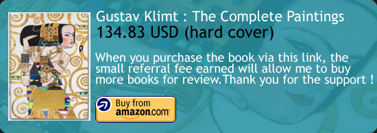 Gustav Klimt : The Complete Paintings Art Book Amazon Buy Link