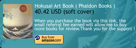 Hokusai - Phaidon Art Book Amazon Buy Link