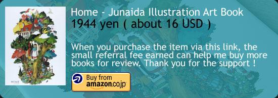 Home - Junaida Illustration Art Book Amazon Japan Buy Link