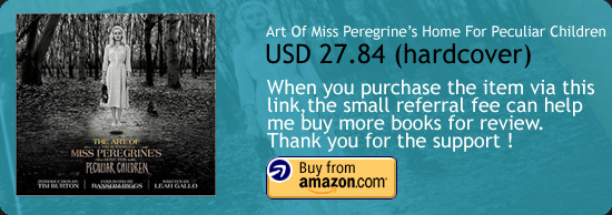 The Art Of Miss Peregrine's Home For Peculiar Children Book Amazon Buy Link