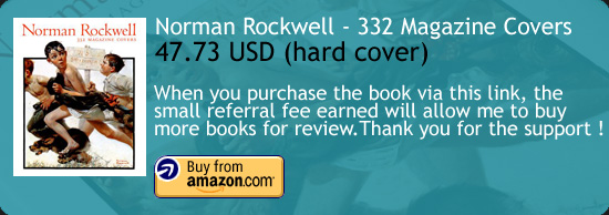 Norman Rockwell - 332 Magazine Covers Art Book Amazon Buy Link