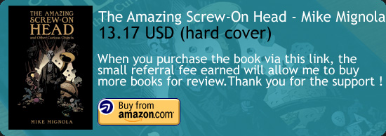 The Amazing Screw-On Head Comic Book Mignola Amazon Buy Link