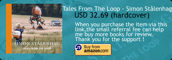 Tales From The Loop - Simon Stålenhag Art Book Amazon Buy Link