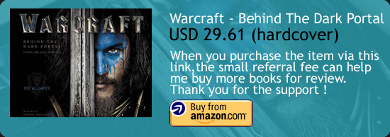Warcraft - Behind The Dark Portal Book Amazon Buy Link