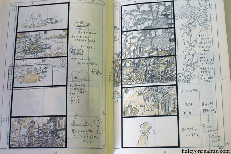 The Art Of Kari-gurashi (Arrietty) Storyboard Book