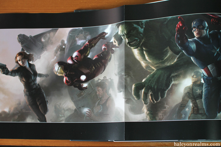 The Art Of Marvel's The Avengers Art Book