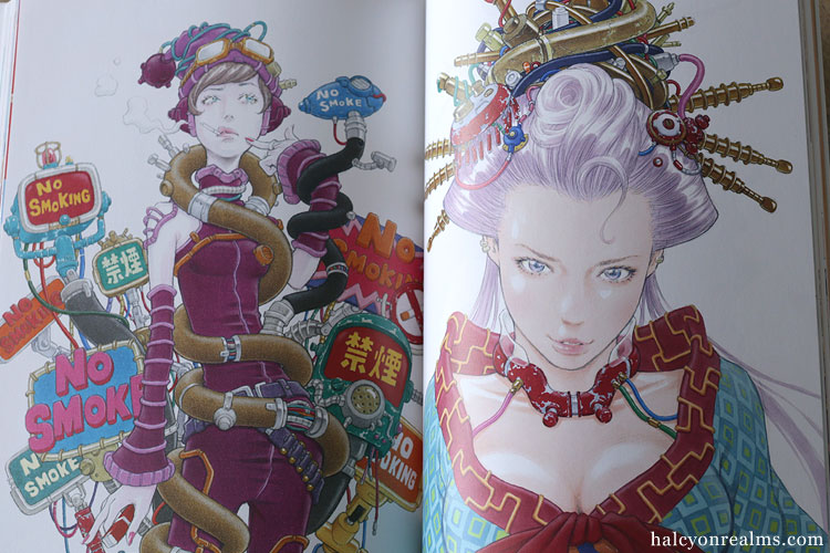Rakugaki Note - Eisaku Kubonouchi Art Works Book Review