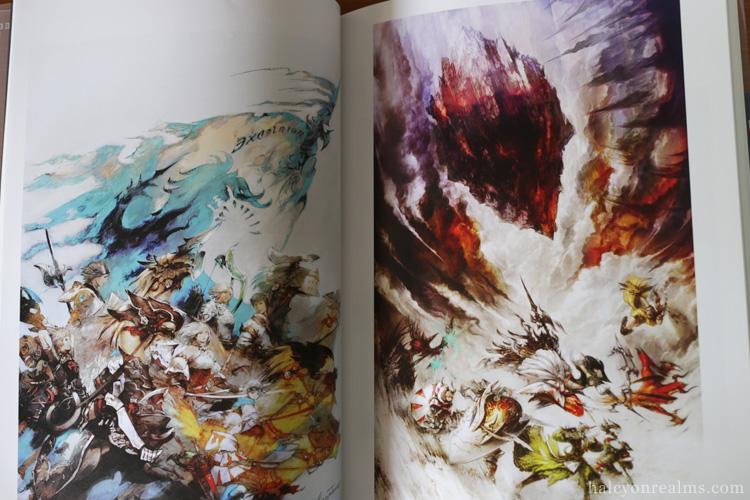 Final Fantasy XIV The Art Of Eorzea Book