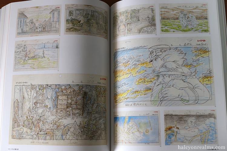 Ghibli Layout Designs Exhibition Art Book