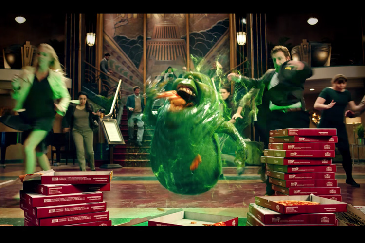 Ghostbusters - Papa John's Pizza Commercial