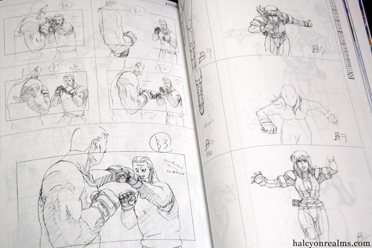 GITS Standalone Complex Genga Art Book