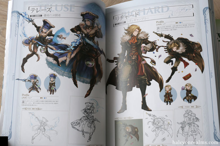 Granblue Fantasy - Graphic Archive Art Book Review