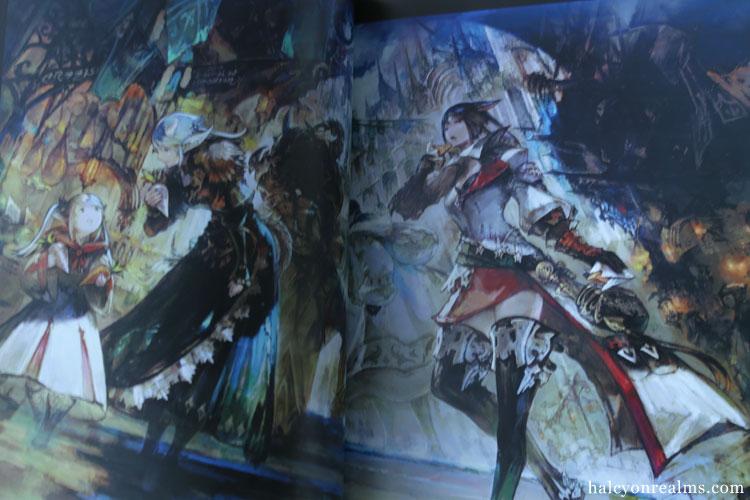 Final Fantasy XIV - Heavensward Art Book Review