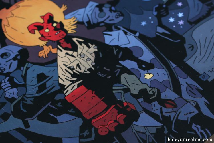 Hellboy - The Midnight Circus Comic Book Fegredo