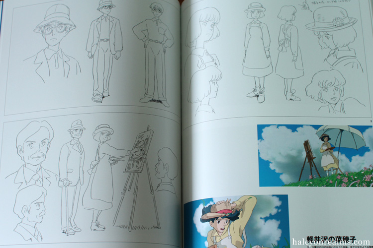 The Art Of The Wind Rises (Kaze Tachinu) Book