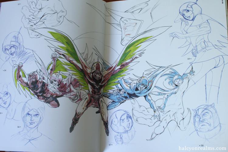 Gatchaman - Kuri Ippei Art Works Book