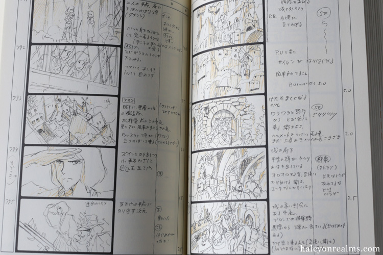 Anime News  Lupin  The Castle Of Cagliostro Storyboard Book
