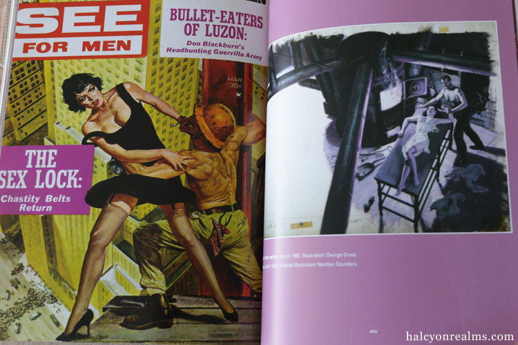 It's A Man's World - Postwar Pulp Magazine Art Book Review
