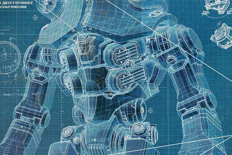 Pacific Rim Jaeger Blueprints Pacific Rim Blueprints