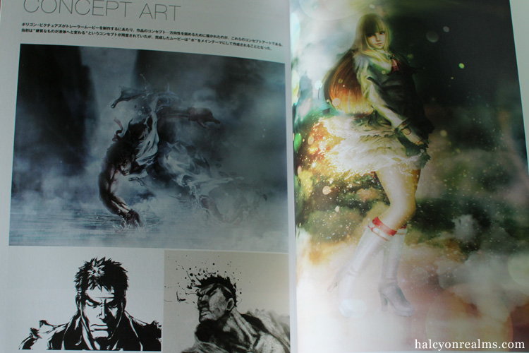 Street Fighter X Tekken Art Works Book