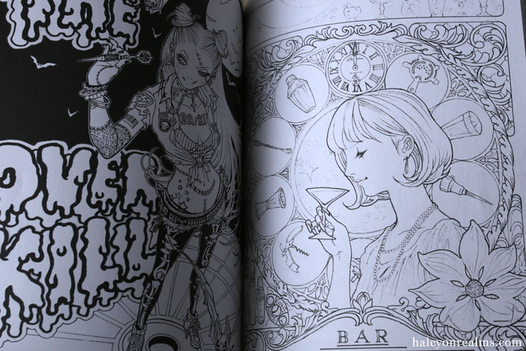 Takumi Art / Coloring Book Review