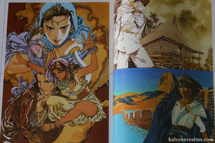 Yamada Akihiro - A Collection Of Paintings Art Book